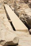 Den oavslutade obelisken, Aswan, Egypten royaltyfri foto