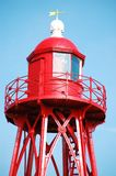 Den Oever Lighthouse Royalty Free Stock Image