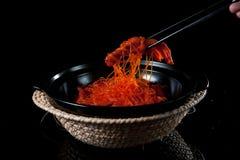 Den officiella kinesiska kokkonstandfoten Arkivbild