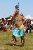 Den oidentifierade indiandansaren på NYC-powen överraskar arkivbild