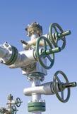Den olje- pumpen låser fotografering för bildbyråer