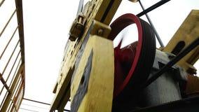 Den olje- pumpen silar arbete