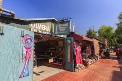 Den Olvera gatan royaltyfria bilder