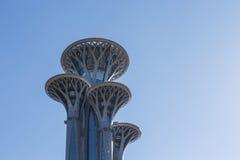 Den olympiska Peking parkerar tornet Arkivbilder
