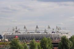 Den olympiska stadionen, olympisk Park, London Royaltyfri Bild