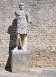 Den omfattande romaren fördärvar på Vaison-La-bindsallaten, Provence, Frankrike Arkivfoton