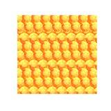 Den orange rundan fasetterade stenar royaltyfri illustrationer