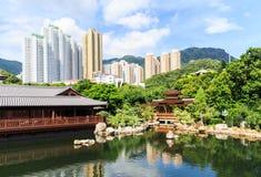 Den orientaliska paviljongen av absolut perfektion i Nan Lian Garden, Royaltyfria Foton