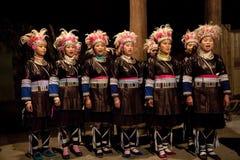 Den original- Dong Chorus, Guizhou, porslin royaltyfri foto