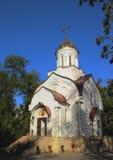 Den ortodoxa Christian Church i söderna av Ryssland Arkivbild