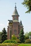 Den ortodoxa domkyrkan av Timisoara, Rumänien Arkivbilder