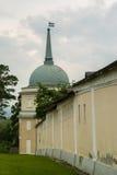 Den ortodoxa kloster av Vvedenskaya Optina Pustyn i den Kaluga regionen av Ryssland Arkivbilder