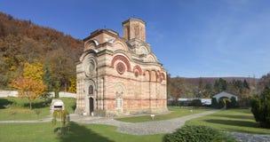 Den ortodoxa kloster Kalenic i Serbien Royaltyfria Bilder
