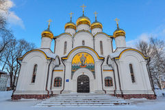 Den ortodoxa kyrkan Arkivfoto