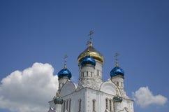 Den ortodoxa kyrkan Royaltyfria Bilder
