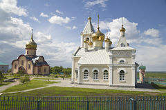 Den ortodoxa kyrkan, kloster Royaltyfri Foto