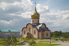 Den ortodoxa kyrkan, kloster Royaltyfria Foton