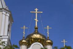 Den ortodoxa kyrkan, kloster Arkivbilder