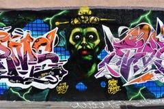 Den Osaoe grändväggmålningen arbetar San Francisco, 15 Royaltyfria Bilder