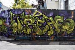 Den Osaoe grändväggmålningen arbetar San Francisco, 12 Royaltyfria Foton
