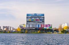 Den Ostankino TV:N centrerar royaltyfria foton
