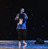 Den outhärdliga lightnessen av denmoderna dansen Arkivfoto