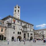 Den Palazzo deien Capitani del Popolo Fotografering för Bildbyråer
