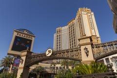 Den Palazzo hotellingången i Las Vegas, NV på Juni 05, 2013 Arkivbild