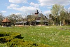 Den Palic staden i Serbien är en turist- destination i sommaren Royaltyfri Bild