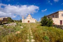 Den Panagia Kanakaria kyrkan och kloster i turken upptog sidan av Cypern 5 Royaltyfri Foto