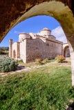 Den Panagia Kanakaria kyrkan och kloster i turken upptog sidan av Cypern 23 Arkivfoton