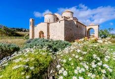 Den Panagia Kanakaria kyrkan och kloster i turken upptog sidan av Cypern 8 Royaltyfria Foton