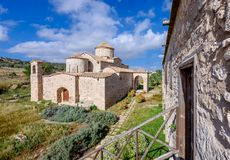 Den Panagia Kanakaria kyrkan och kloster i turken upptog sidan av Cypern 11 Royaltyfria Foton