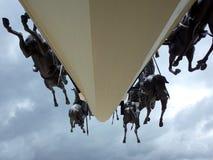 Den Pantano de Vargas monumentet royaltyfri foto