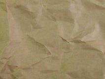 Den pappers- gammala bruntet texturerar Royaltyfri Bild