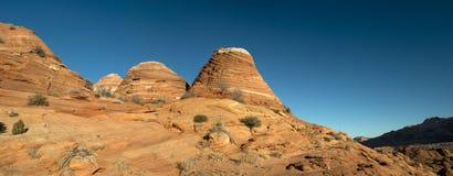 Den Paria kanjonen, cinnoberfärgklippor, Arizona Arkivbilder
