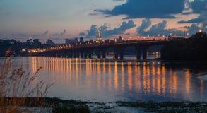 Den Paton bron Fotografering för Bildbyråer