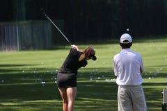Den Paula creameren på golf Evian styrer 2012 arkivfoto