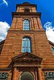 Den Paulskirche Paul's kyrkan i Frankfurt den första tyska konstitutionen löste här, Tyskland Arkivfoton