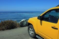 In den Pazifik Lizenzfreie Stockfotografie