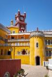 Den Pena slotten Sintra portugal royaltyfri bild