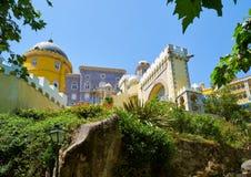Den Pena slotten Sintra portugal royaltyfria foton