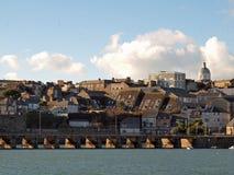 Den Penzance hamnen överbryggar Royaltyfria Foton