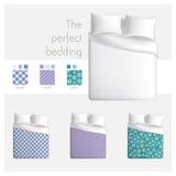 Den perfekta sängkläderna Royaltyfri Bild