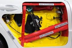 Den Peugeot 508 bilbakdörren strukturerar Arkivbilder