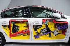 Den Peugeot 508 bilen förkroppsligar Arkivbilder
