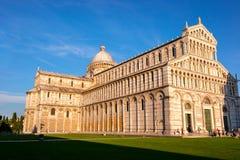 Den Pisa domkyrkan, Italien Arkivbilder