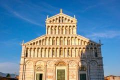 Den Pisa domkyrkan, Italien Arkivbild