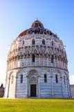 Den Pisa domkyrkan, Italien Arkivfoton