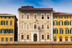 Den Pisa universitetrectoraten förlägger högkvarter i Tuscany, Italien arkivbild